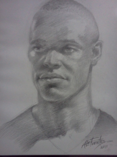 Portrait Graphite Pencil on Paper